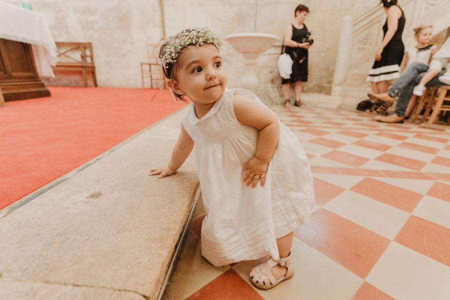 Photos l Baptism at Cubzac's church